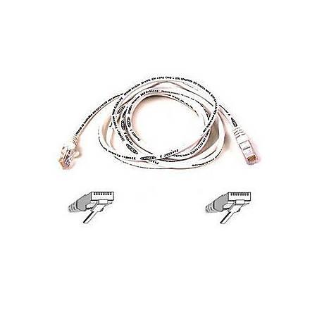 Belkin Cat5e Patch Cable - RJ-45 Male Network - RJ-45 Male Network - 10ft - White