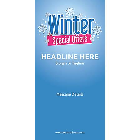 Custom Vertical Banner, Winter Special Offers