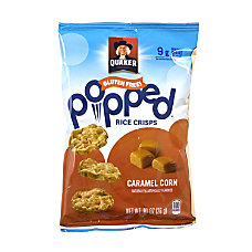 Quaker Caramel Corn Popped Rice Crisps