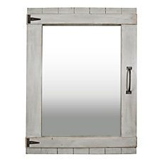 FirsTime Co Weathered Barn Rectangular Mirror