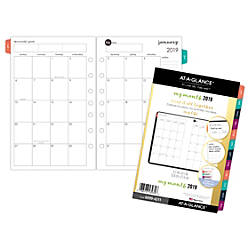 AT A GLANCE Harmony Monthly Planner
