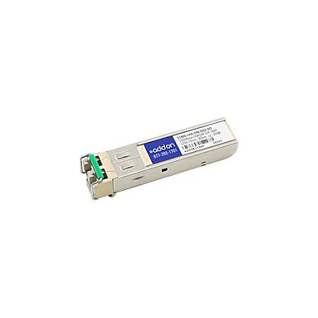 AddOn Brocade E1MG-LHA-OM Compatible TAA compliant 1000Base-DWDM 100GHz SFP Transceiver (SMF; 1559.79nm; 80km; LC; DOM)