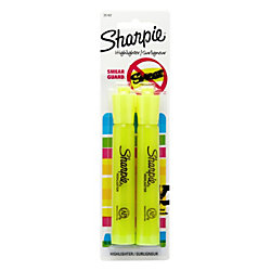 Sharpie® Accent® Highlighters, Fluorescent Yellow, Pack Of 2