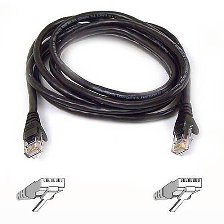 Belkin Cat6 Cable - RJ-45 Male - RJ-45 Male - 5ft - Green