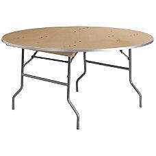 Flash Furniture Round Heavy Duty Birchwood