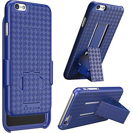 i-Blason Transformer 55-TRANS-BLUE Carrying Case (Holster) Apple iPhone Smartphone - Blue - Shatter Resistant Interior, Drop Resistant Interior - Textured - Holster, Belt Clip