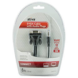 Ativa 6 VGASVGA Video Cable Plus
