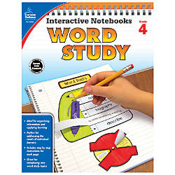 Carson Dellosa Interactive Notebooks Word Study