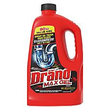 Drano Max Gel Clog Remover Ready