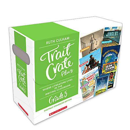 Scholastic Professional Trait Crate Plus Kits, Grade 5