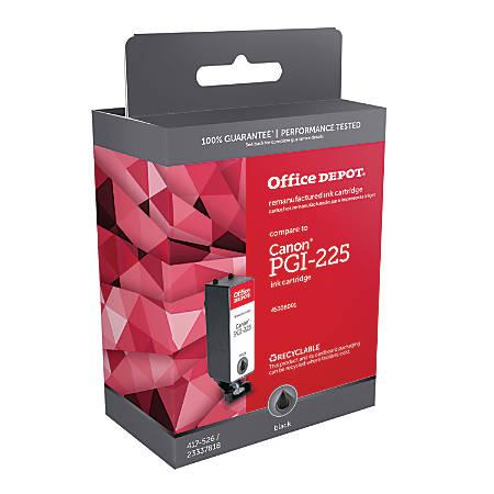 Office Depot® Brand ODPGI225BK (Canon PGI-225) Remanufactured Black Ink Cartridge