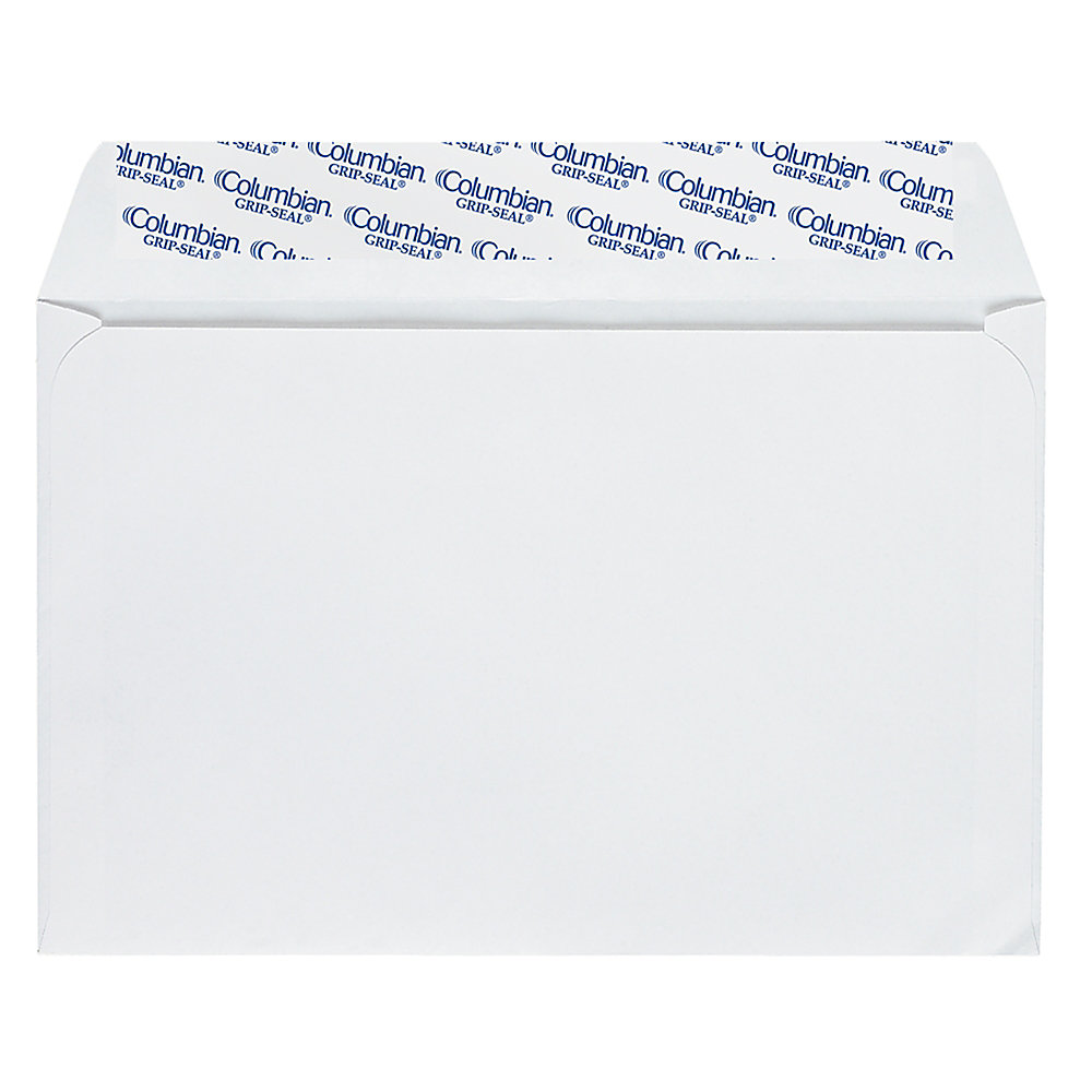 Quality Park Grip-Seal Invitation And Greeting Card Envelopes, 5 3/4