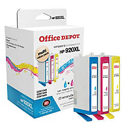 Office Depot Brand OD920XLCMY C HP