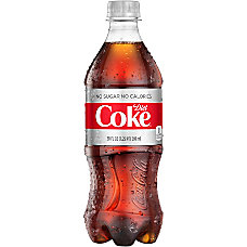 Diet Coke 20 Oz Bottle