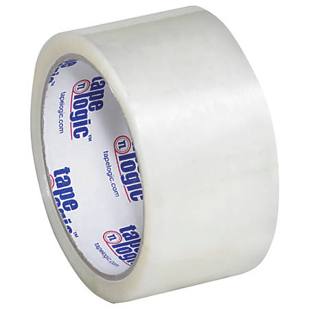 """Tape Logic® #800 Economy Tape, 2"""" x 55 Yd., Clear, Case Of 6"""