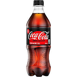 Coca Cola Zero 20 Oz Bottle