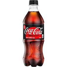 Coca Cola Zero 20 Oz Bottle