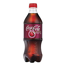 Coca Cola Cherry 20 Oz Bottle