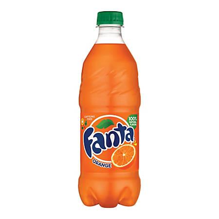 Fanta Orange, 20 Oz. Bottle