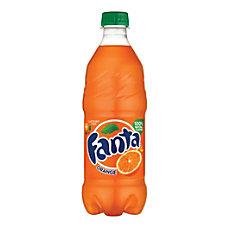 Fanta Orange 20 Oz Bottle