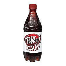 Diet Dr Pepper 20 Oz Bottle