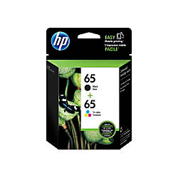 HP 65 BlackTricolor Ink Cartridges T0A36AN140