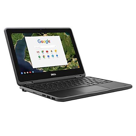 "Dell™ Chromebook 3180 Laptop, 11.6"" Screen, Intel® Celeron® N3060, 4GB Memory, 16GB eMMC, Chrome OS"