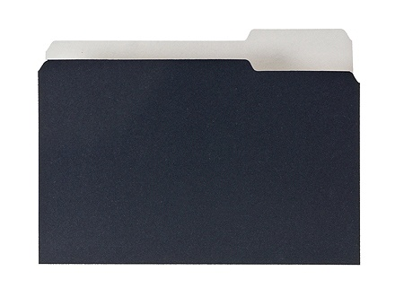Pendaflex Earthwise 2-tone 1/3 Cut File Folders - 1/3 Tab Cut - Assorted  Position Tab Location - 11 pt  Folder Thickness - Black, White - Recycled -