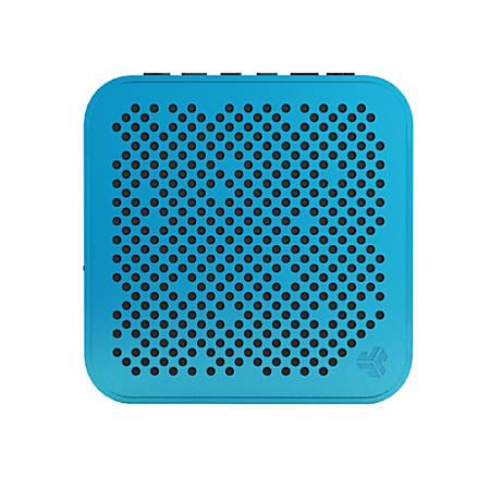 """JLab Audio Mini Crasher Bluetooth® Speaker, 4""""H x 4""""W x 1.25""""D, Blue, MINI-BLU-BOX"""