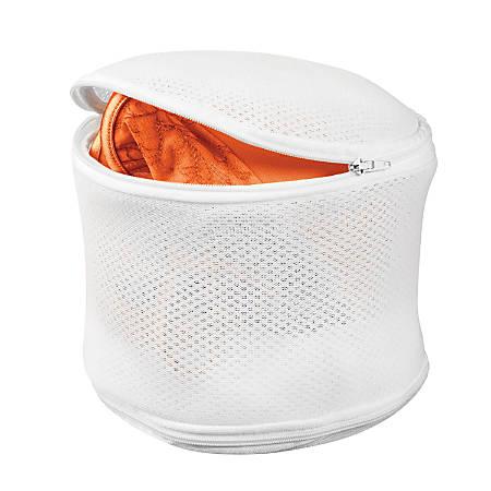 """Honey-Can-Do Bra Laundry Bags, 6 7/8"""", White, Pack Of 2"""