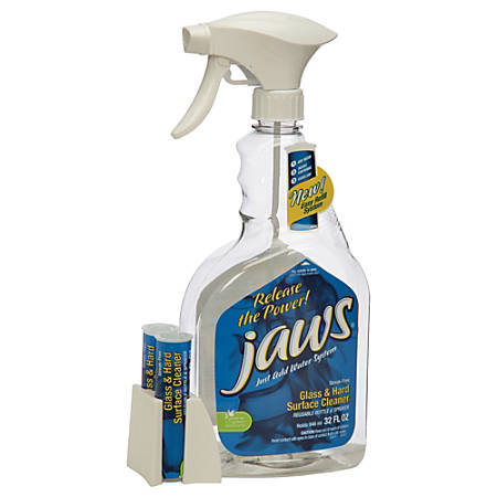 SKILCRAFT® JAWS Glass/Hard Surface Cleaning Kit