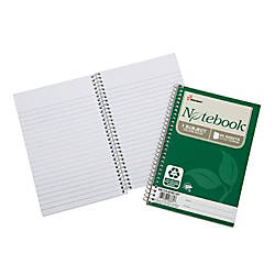 SKILCRAFT 100percent Recycled Spiral Notebooks 5