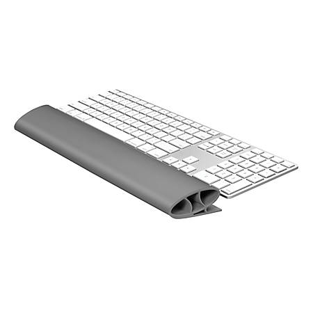 "Fellowes® I-Spire Series Keyboard Wrist Rocker, 1.12"" x 18.25"" x 2.56"", Gray"