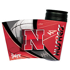 Hunter NCAA Insulated Travel Tumbler Nebraska