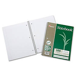 SKILCRAFT Wirebound Notebooks 11 x 8