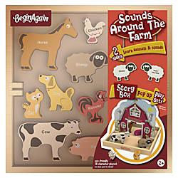 BeginAgain Toys Sounds Around the Farm