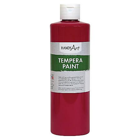 Handy Art 16 oz. Premium Tempera Paint - 16 fl oz - 1 Each - Magenta