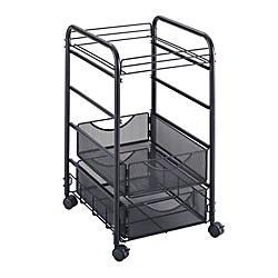 Safco Onyx Mesh Cart 27 H