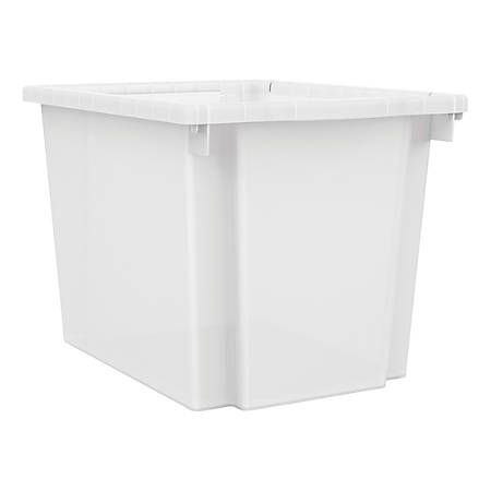 HON® Flagship Storage Collection Bin Kit, Clear