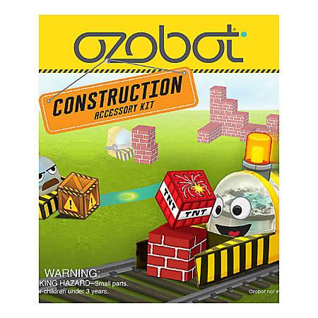 Ozobot Bit Construction Series Accessory Kits, Case Of 12