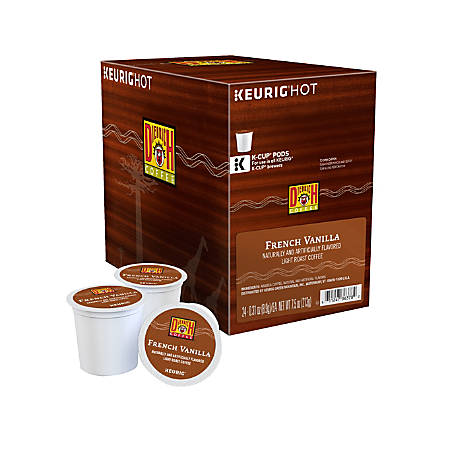 Diedrich Coffee Light Roast Coffee K-Cup® Pods, French Vanilla, 0.31 Oz, Box Of 24