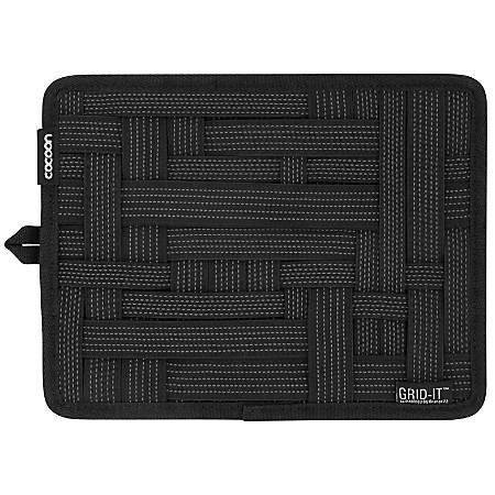 """Grid-It® Organizer, 9.4""""H x 7.5""""W x 0.4""""D, Black"""