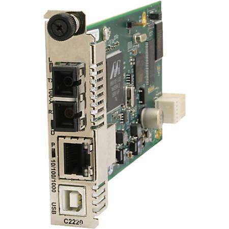 Transition Networks C3210-1040 Media Converter