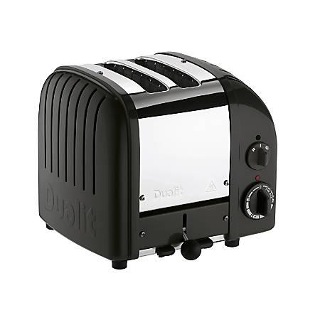 Dualit® NewGen Extra-Wide-Slot Toaster, 2-Slice, Black