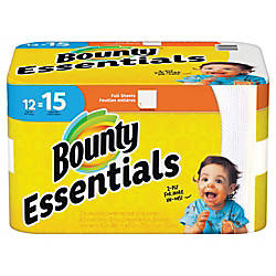 Bounty Essentials 2 Ply Paper Towels