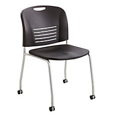 Safco Vy Stackable Chairs Straight Leg