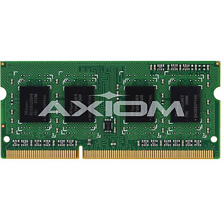Axiom AX - DDR3 - 4 GB - SO-DIMM 204-pin - 1600 MHz / PC3-12800 - unbuffered - non-ECC - for HP EliteDesk 800 G1; EliteOne 705 G2; Flexible t620; ProDesk 400 G1, 600 G1