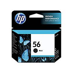 HP 56 Black Ink Cartridge C6656AN