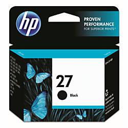 HP 27 Black Original Ink Cartridge