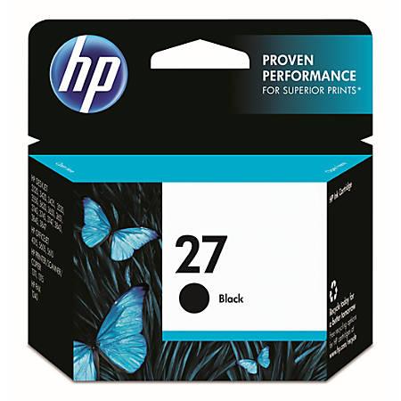 HP 27, Black Original Ink Cartridge (C8727AN)